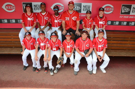 Team shot with Devin Mesoraco